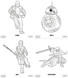 wars awakens printables the awakens wars free coloring pages for