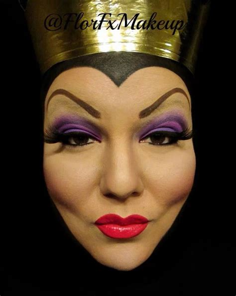 makeup tutorial evil queen halloween on pinterest evil queens evil queen makeup