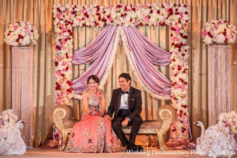 engagement home decorating ideas reception in fremont ca indian wedding by wedding