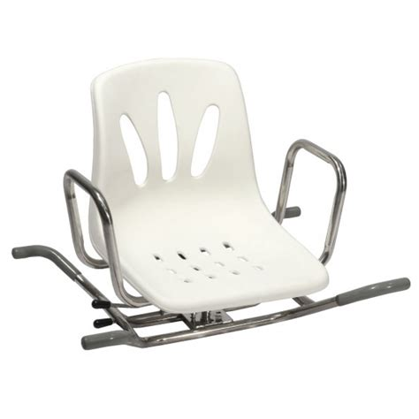sedia per vasca sedia girevole in acciaio inox per vasca da bagno ausili
