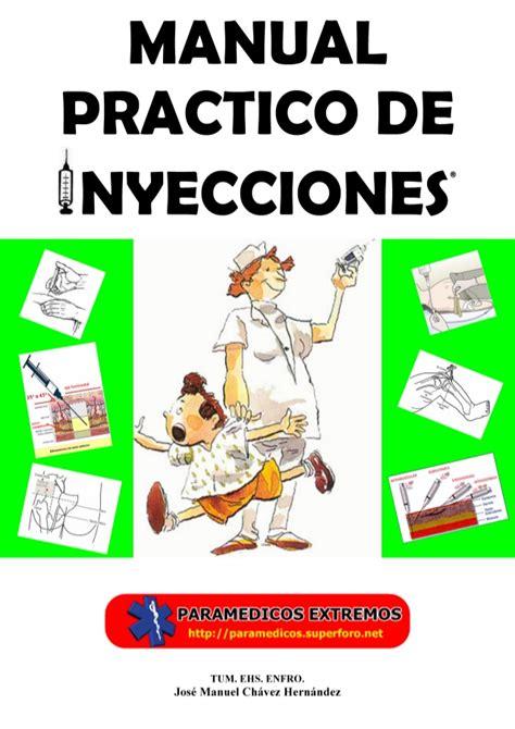 manual practico de inyecciones