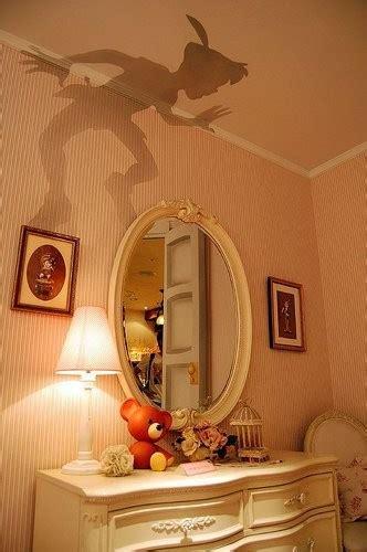 peter pan bedroom wallpaper peter pan silhouette traditional girl s room
