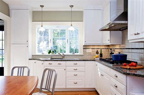 Kitchen Bay Window Over Sink Bay Window Over Kitchen Sink Traditional Kitchen
