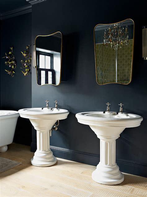 Black And Blue Bedroom Ideas lavish bathroom interior design for london residence