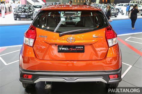 Toyota Yaris S Trd 2016 gallery toyota yaris trd sportivo at bangkok 2016 image