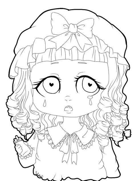 coloring page of crying baby melanie martinez coloring pages related keywords melanie