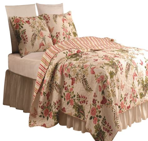 Greenland Quilts by Greenland Home Butterflies Quilt And Sham Set 2