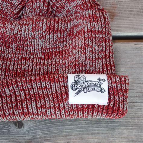 maroon knit maroon knit beanie castle danger brewing