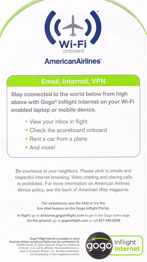 aa wifi american airlines aa aircraft reference facts information