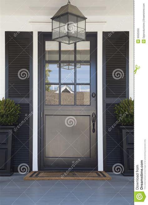 Front Door Of An Upscale Home Stock Photo Image 30525350 Front Door Light Timer