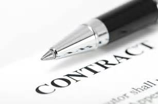 how to write up a contract on alibaba amz