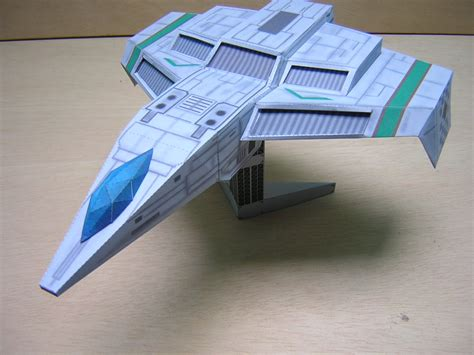 Papercraft Spaceships - it s only a paper spaceship wing commander cic