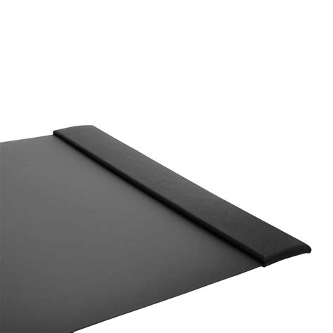 Desk Protector Pad by Linoleum Desk Pads With Antique Leather Side Panels