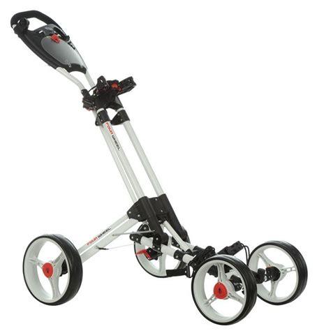 Trolly Oksigen Mt 89 dunlop 4 wheel push golf trolley cart one click folding system multi function ebay