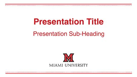 University Of Miami Powerpoint Template Powerpoint Templates The Miami Brand Ucm Miami Of Miami Powerpoint Template