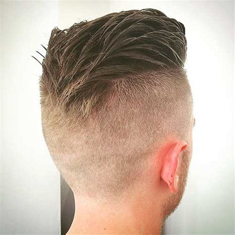 Shaved Back And Sides Haircut | 15 mens haircut shaved sides mens hairstyles 2018