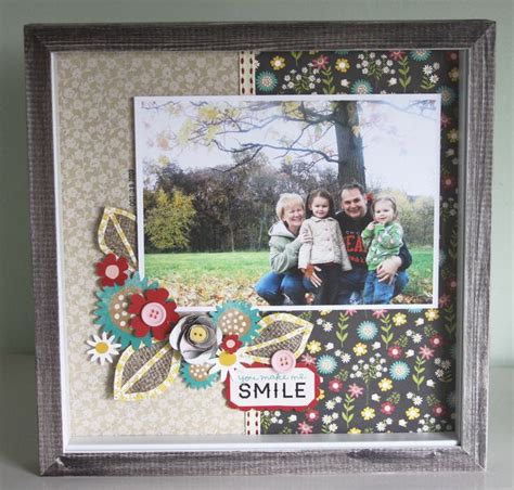 scrapbook layout holder 29 best scrapbook frame images on pinterest scrapbook