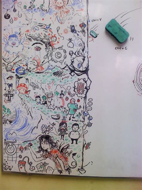 Whiteboard Doodle By Cocteautwins On Deviantart