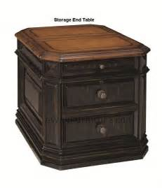Trestle Dining Room Table Laptop Storage End Table