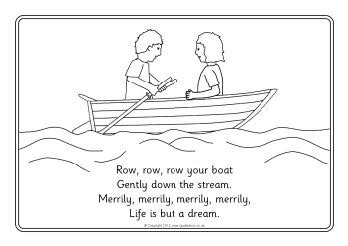 row your boat worksheet row row row your boat colouring sheets sb8331 sparklebox