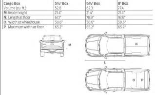 ford ranger bed dimensions interior bed dimensions ford f150 forum community of