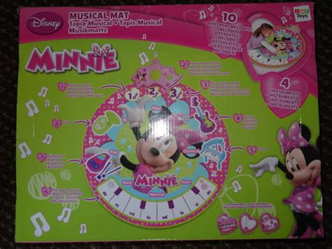 Disney Musical Mat Minnie Mouse - disney mickey mouse and minnie mouse musical mat for sale