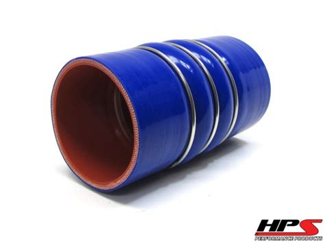 hps  id  long silicone charge air cooler cac hose double hump coupler bellow cold side turbo