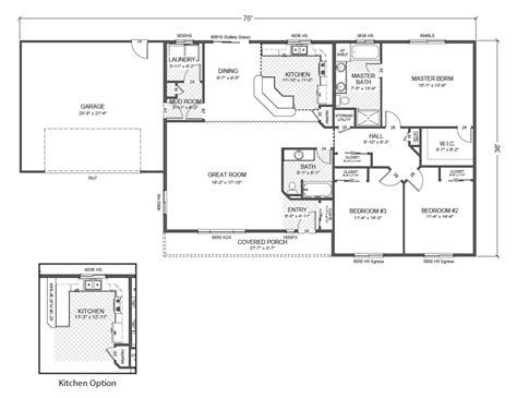 ranch rambler floor plans rambler house plans ranch with basement car garage home
