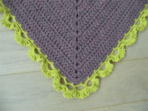 bordure en crochet pour armoire tuto de la bordure du ch 226 le mauve en crochet f 233 e
