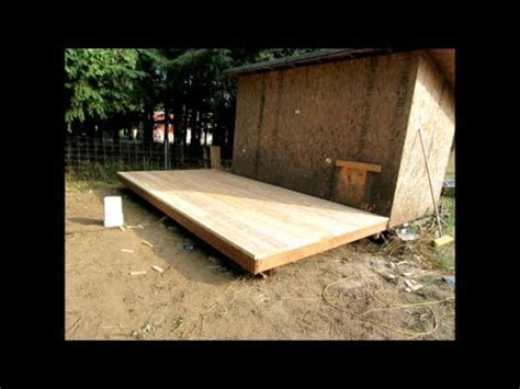 how to build floor how to build an 8 x 16 wood deck or floor for an outdoor
