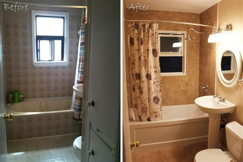 bathroom remodeling ideas before and after pictures of bathroom remodels before and after home round