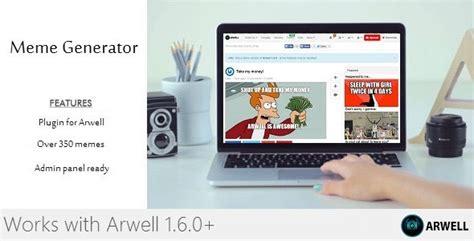 Meme Generator Reviews - meme generator plugin for arwell by aristona codecanyon