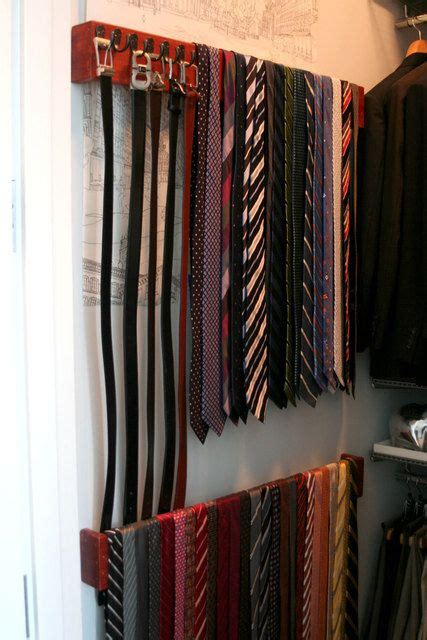 how to organize ties in closet the world s catalog of ideas
