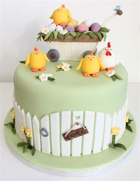 Easter Cakes by Easter Gloverly Cupcakes