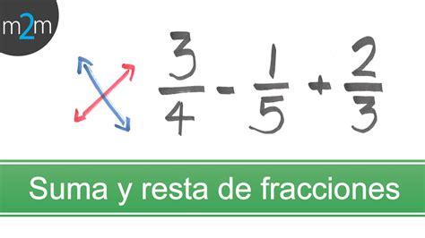 suma y resta de fraccionarios para nios de tercer grado suma y resta de 3 fracciones con diferente denominador