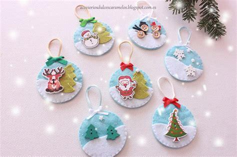 decorar bolas de navidad con fieltro fieltro dulcescaramelos bolas de fieltro para el 225 rbol de