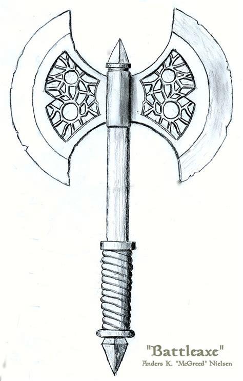 battleaxe by mcgreed on deviantart