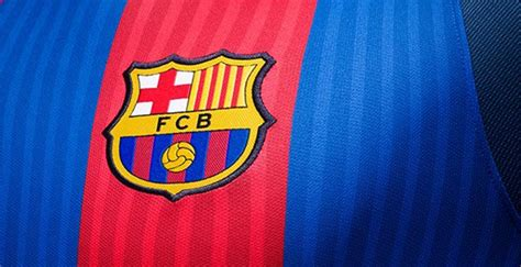 barcelona colors barcelona 16 17 home kit released footy headlines