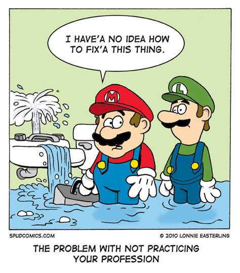 Plumbing Humour by