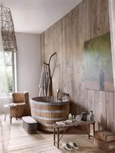 salle de bain rev 234 tement aspect parquet mobilier en bois