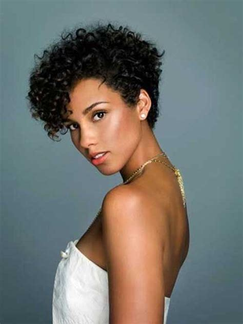 short curly top hair with straight sides top 25 short curly hairstyles for black women