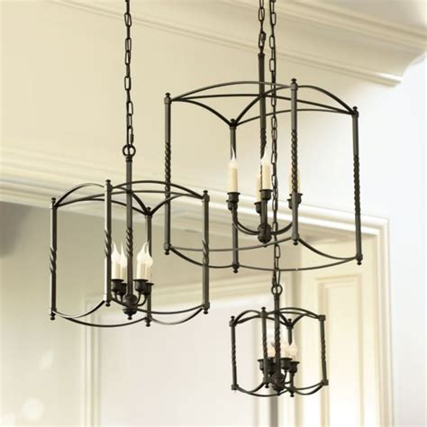 Carriage Light Chandelier Carriage House Chandelier Large Kitchen Makeover