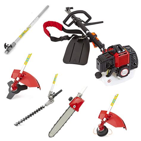 52cc petrol multi function 5 in1 garden tool hedge