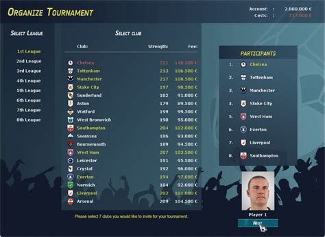 club manager 2017 free