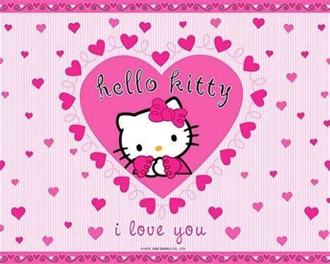 wallpaper hello kitty san valentin protectores de pantalla de san valent 237 n de la hello kitty