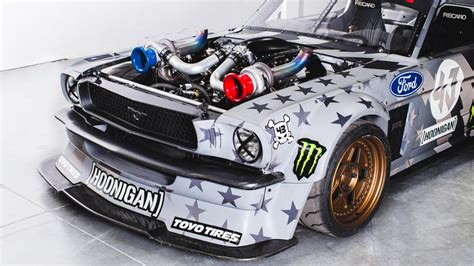 hoonigan mustang suspension de hoonicorn mustang v2 ken block heeft heeft 1 400 pk
