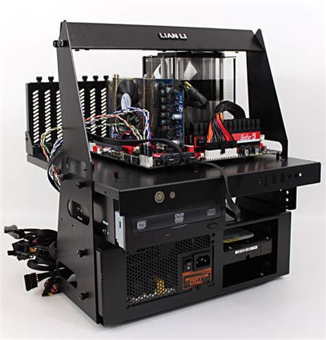 lian li t60 test bench lian li pitstop t60 diy test bench review final thoughts pricing conclusion