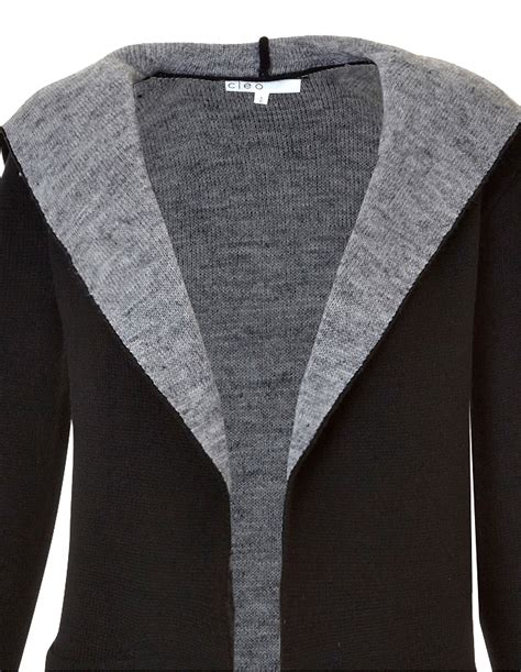 37 3 Black Sweater Limited open black sweater sweater