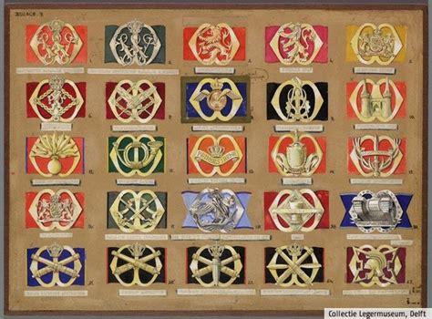 Emblem Baret 1 designs for the new beret badges by f j h th smits 1947