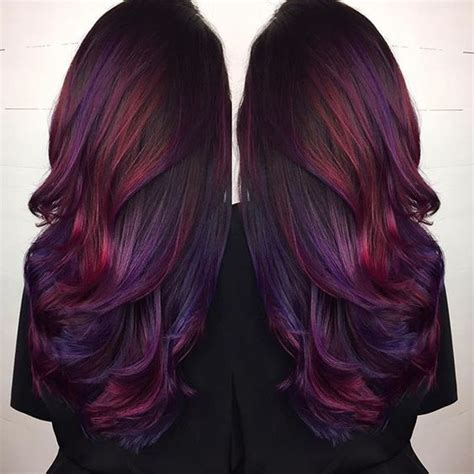 Highlights From Our Club Something Different by 95 Purple Hair Color Highlights Lowlights For